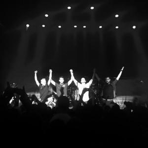 Leur dernier show à viiiiie !!! source : Facebook TMTTP