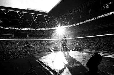 Wembley, là où seuls les plus grands se produisent. source : we heart it